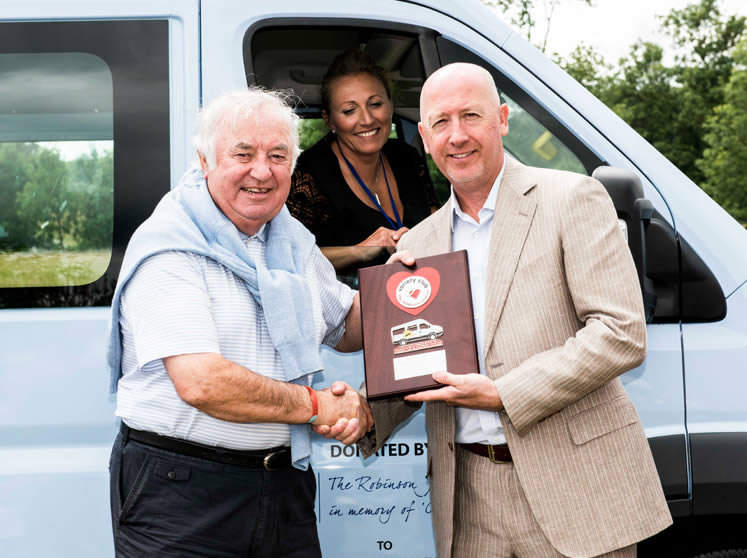 30th Sunshine Coach presented to local school